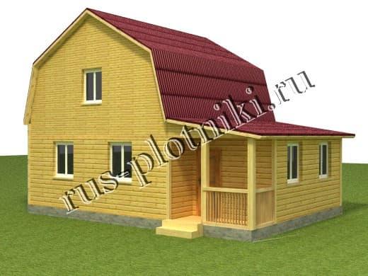 Дом 7х9