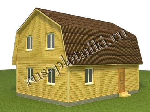 Дом 9х6