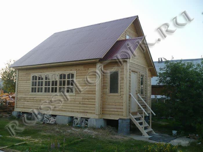 Дом 6х7 из бруса