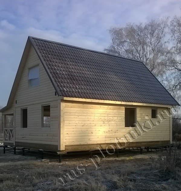 Дом из бруса в Тверской области