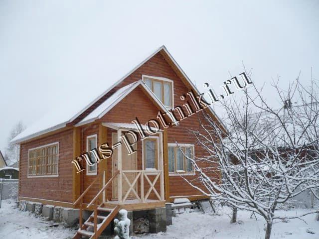 Строим дома зимой