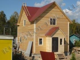 Двухэтажный дом из бруса