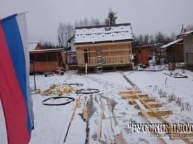 А в середине апреля, в Можайском районе неожиданно выпал снег.