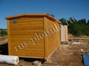 Готовые перевозные бани