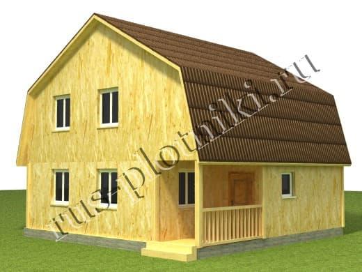 Дом 7х8