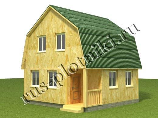Дом под ключ 6х6