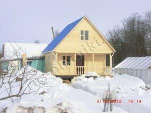 Построена баня во Всеволожском районе