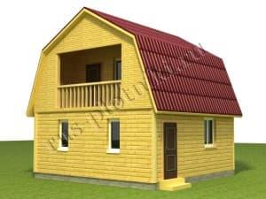 построить дом 6х6