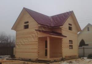 Строительство дома из бруса в Подольском районе