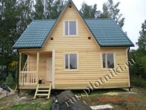 Построили дом из бруса в Щёлковском районе