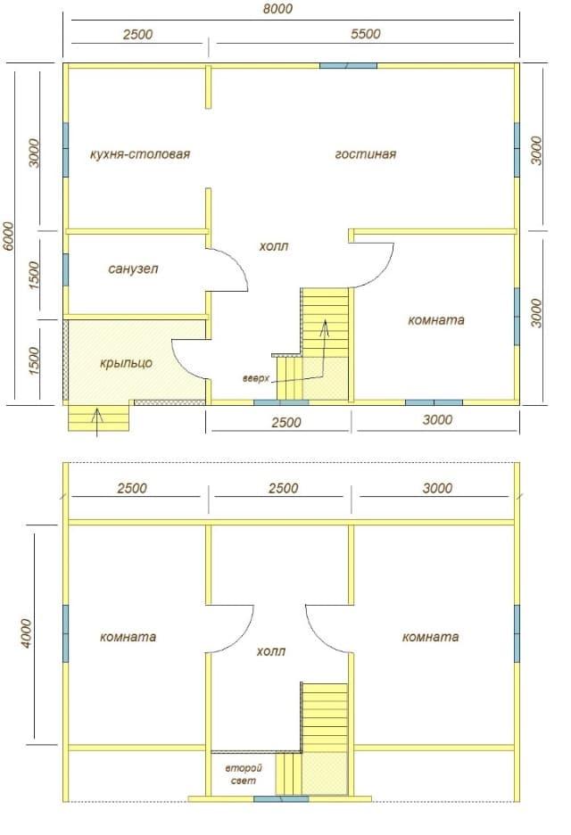 Построили дом из бруса в щёлковском