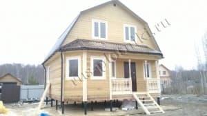 Дом из бруса в Кимрском районе