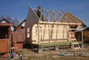 Как мы строим бани (фото)