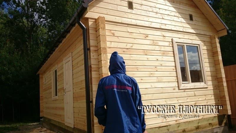 Домик для прислуги 8х4 во Владимирской области