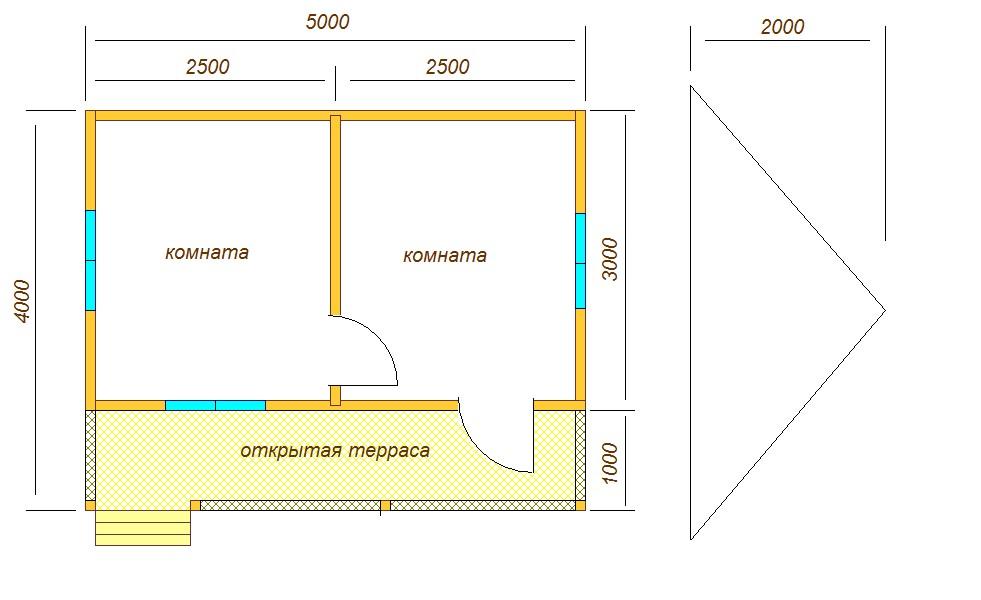 план дома на новом участке