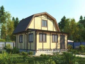 Фото дома с верандой