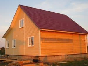 Фотоотчет постройки каркасного дома