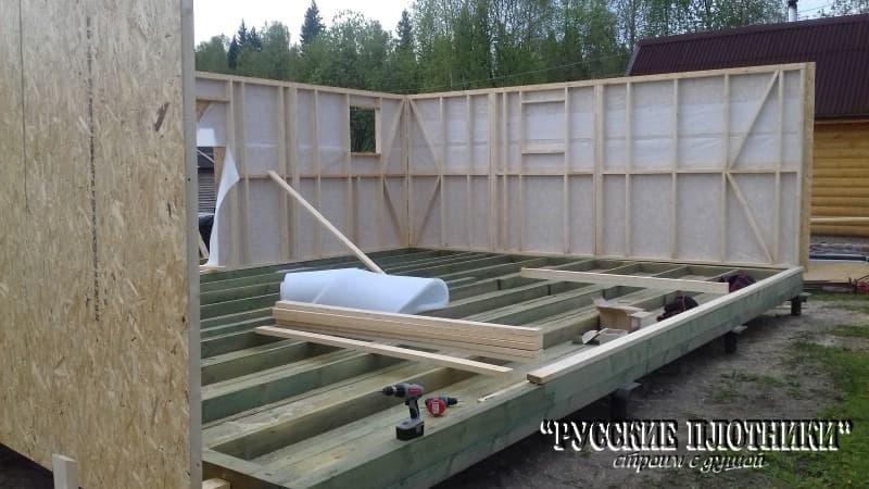 Отзыв о строительстве каркасного дома