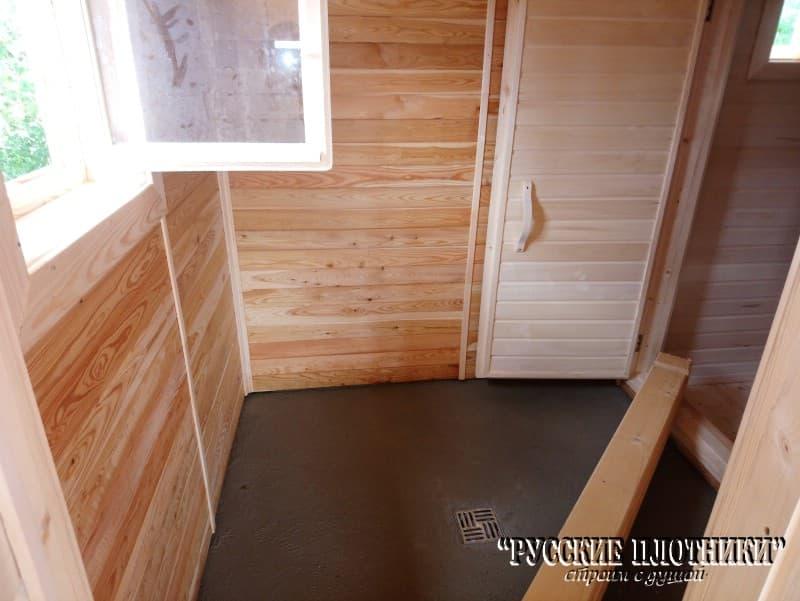Строительство бани в Зубцовском районе