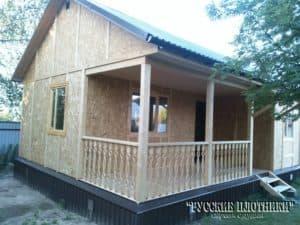Каркасный дом в Сергиево-Посадском районе