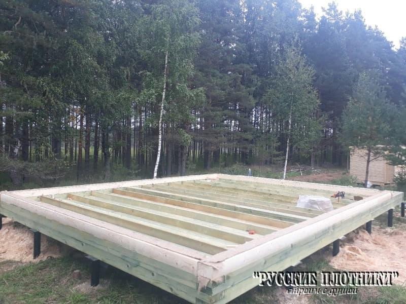 Строительство бани в Лужском районе