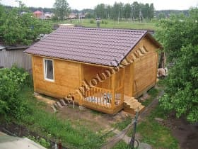 Баня в Орехово-Зуевском районе