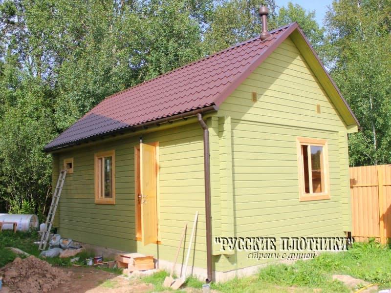 дачный домик по проекту