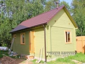 Одноэтажный дачный домик