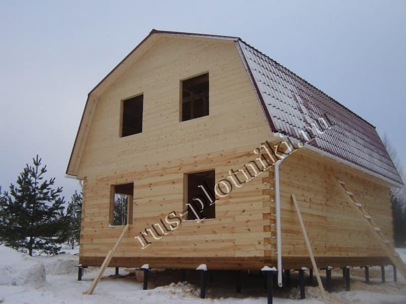 Дом из бруса в Ивановской области