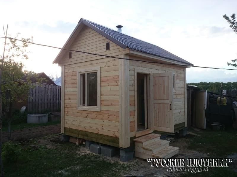 Уютная небольшая банька в Егорьевском районе