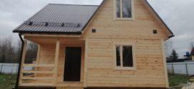 Дом из бруса в Клинском районе