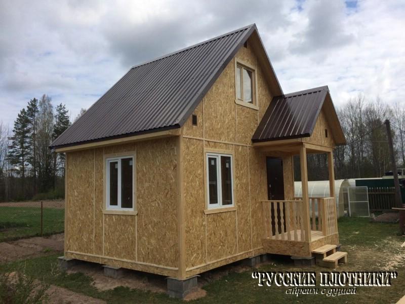 Каркасный домик в Псковской области