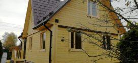 Дом с мансардой в поселке им. Воровского