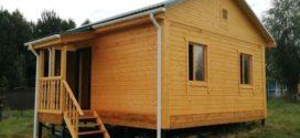 Дом из бруса в Волоколамском районе